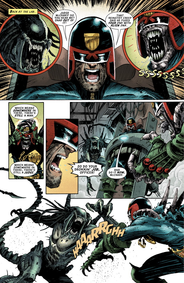 Android vs alien - 3 part 5