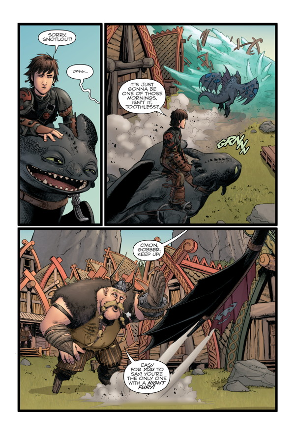 How to train your dragon the serpents heir tpb profile dark preview ccuart Images