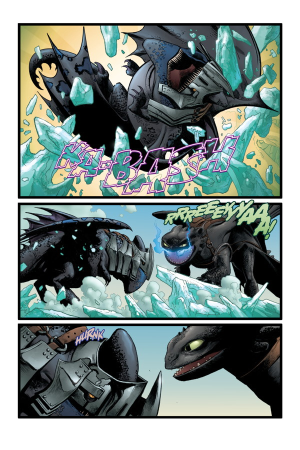 how to train your dragon the serpents heir tpb