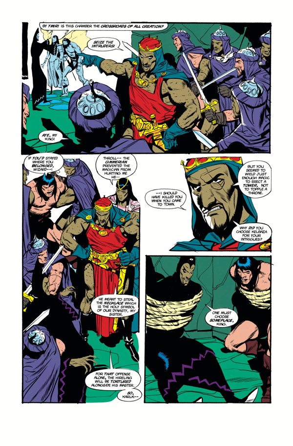 The Chronicles Of Conan Volume 33 The Mountain Where Crom Dwells
