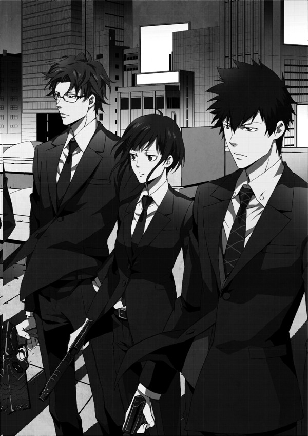 Image result for psycho pass inspector shinya kogami