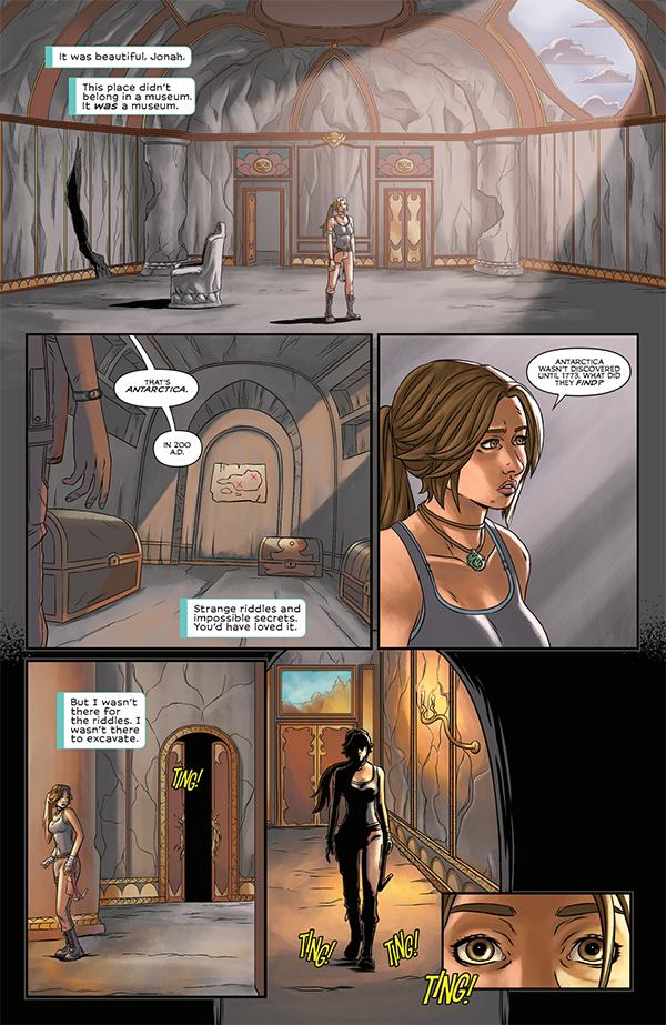 Tomb Raider Volume 3: Survivor's Crusade TPB :: Profile :: Dark