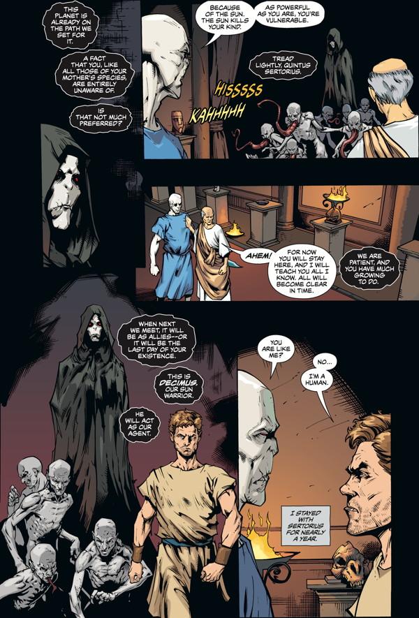 The Strain Mister Quinlan Vampire Hunter 3 Profile Dark