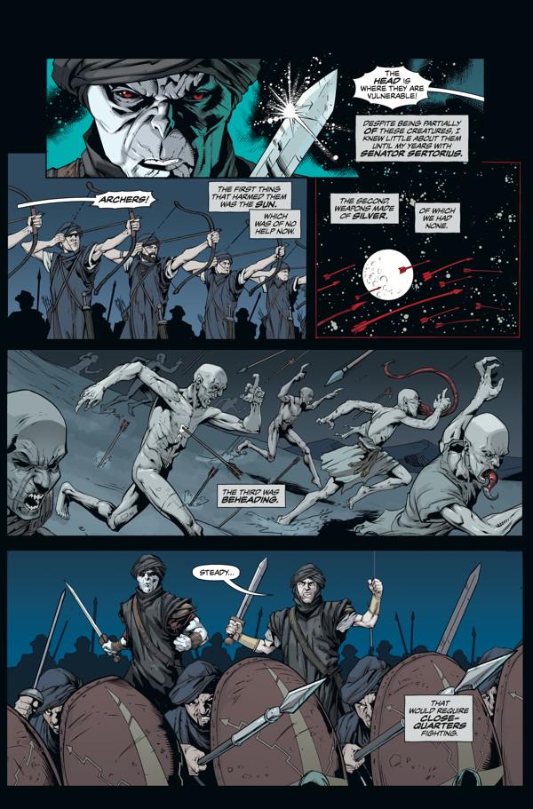 The Strain Mister Quinlan Vampire Hunter 4 Profile Dark