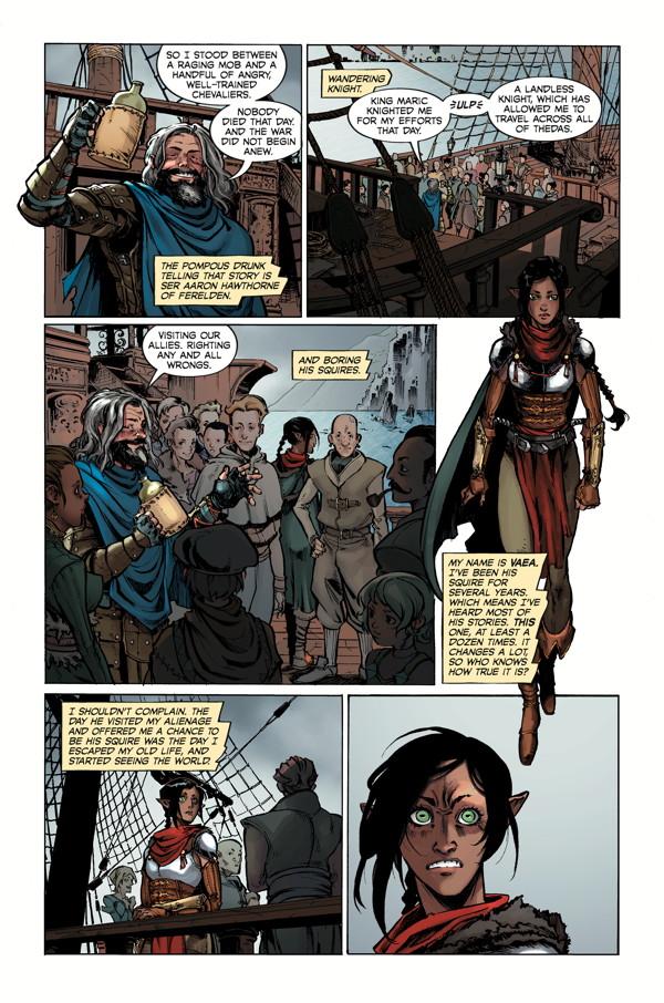 Dragon Age: Knight Errant #1 :: Profile :: Dark Horse Comics