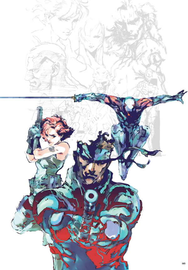 The Art Of Metal Gear Solid I Iv Hc Profile Dark Horse