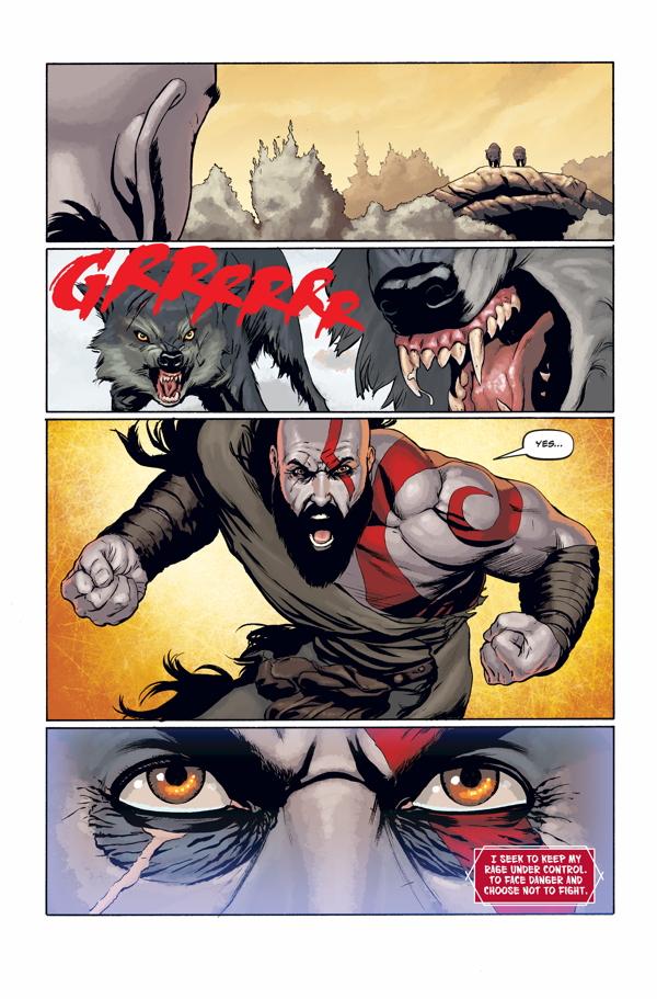 God of War #1 :: Profile :: Dark Horse Comics