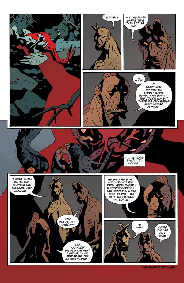 Hellboy Omnibus Volume 4: Hellboy in Hell TPB :: Profile