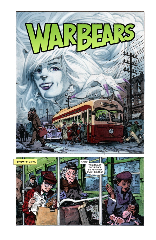 Image result for warbears #1 Dark Horse