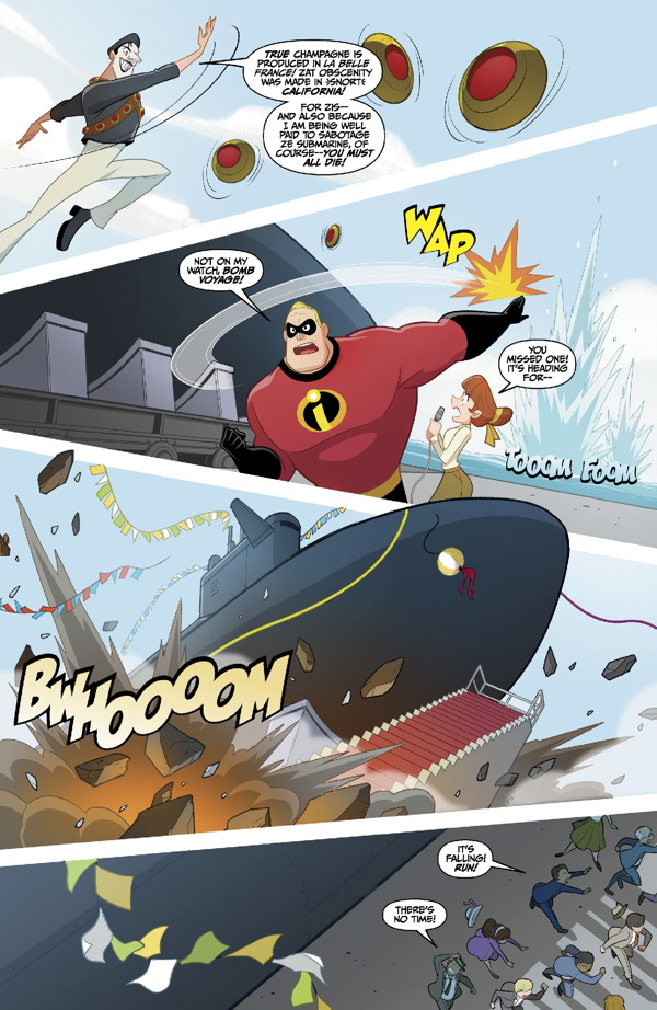Disney / Pixar The Incredibles 2 #1: Crisis in Mid-Life
