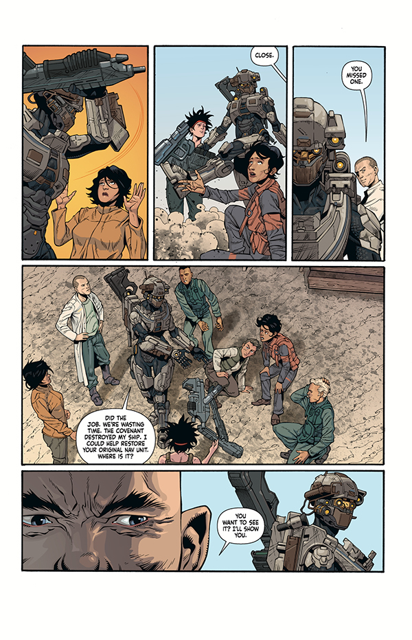 Halo: Lone Wolf #3 :: Profile :: Dark Horse Comics