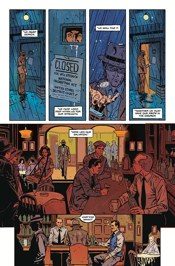 Tommy Gun Wizards #1 :: Profile :: Dark Horse Comics