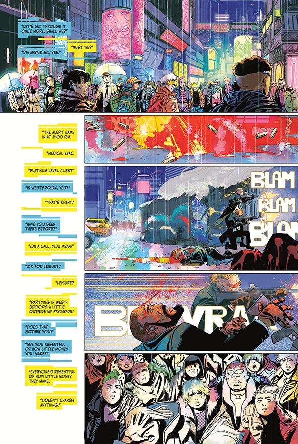 Cyberpunk 2077: Trauma Team #1 :: Profile :: Dark Horse Comics