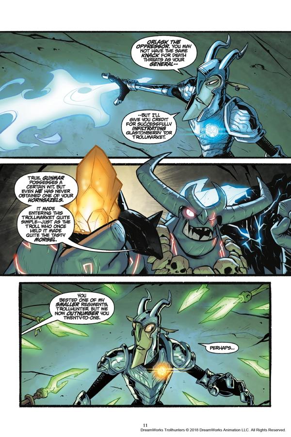 Trollhunters Tales Of Arcadia The Felled Tpb Profile