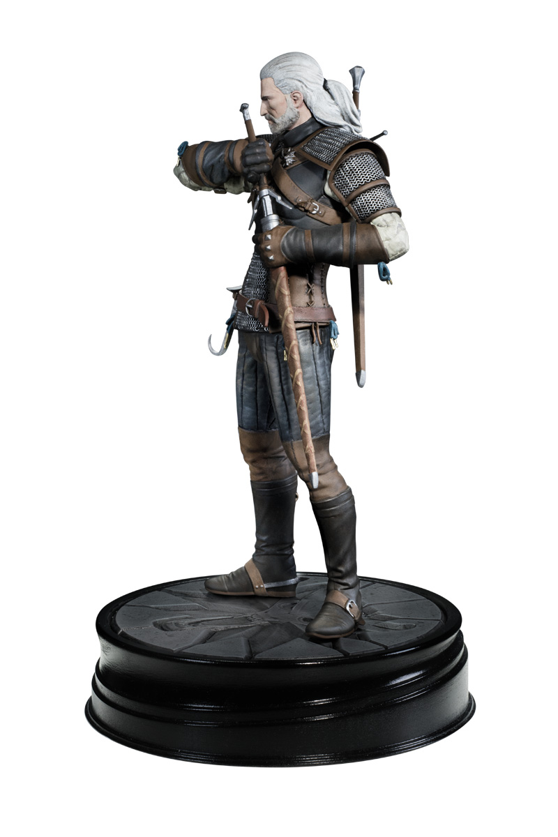 The Witcher 3 Geralt Figure Profile Dark Horse Comics