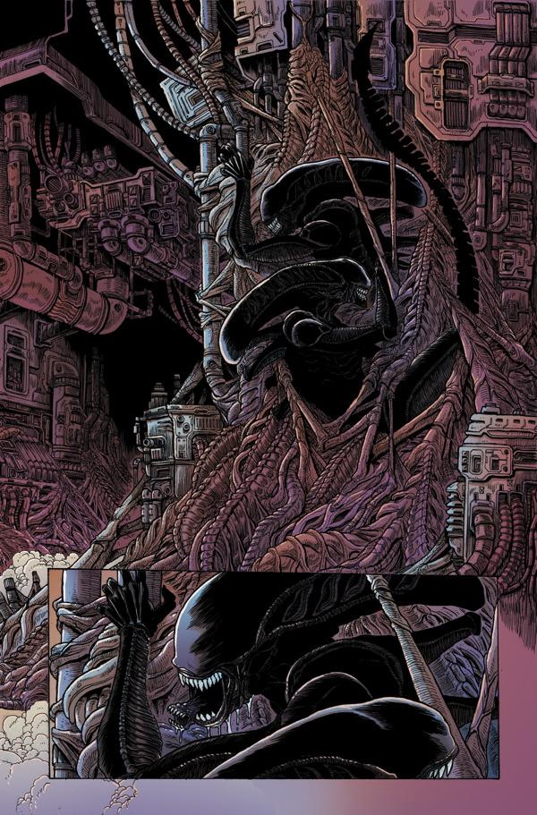 Aliens dead orbit 3 profile dark horse comics preview altavistaventures Choice Image
