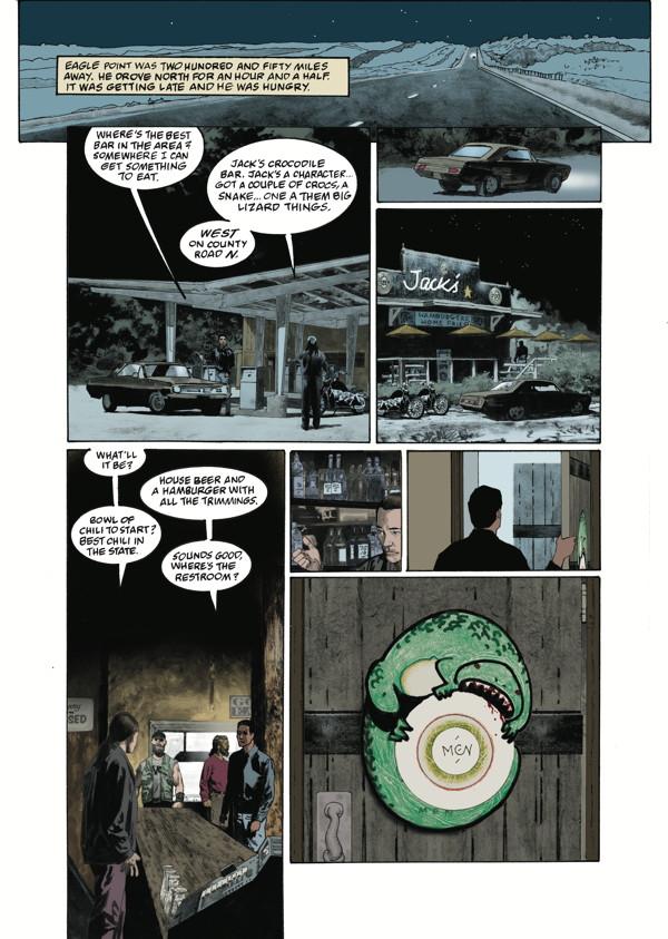 American Gods Shadows 1 Profile Dark Horse Comics