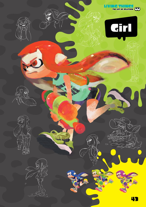 The Art Of Splatoon Hc Profile Dark Horse Comics