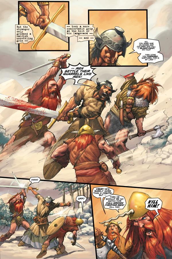 Conan Omnibus Volume 1 Birth Of The Legend Tpb Profile
