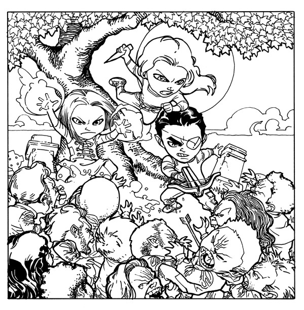 Buffy the Vampire Slayer Adult Coloring Book :: Profile :: Dark ...