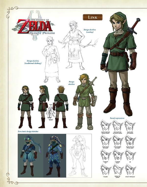 The Legend Of Zelda Hyrule Historia Hc Profile Dark Horse Comics