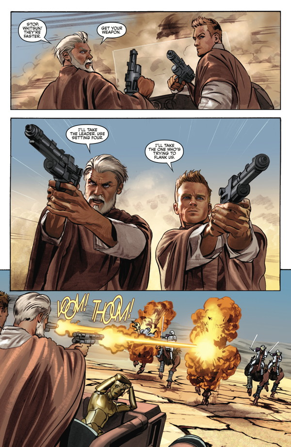 The Star Wars 4 Profile Dark Horse Comics