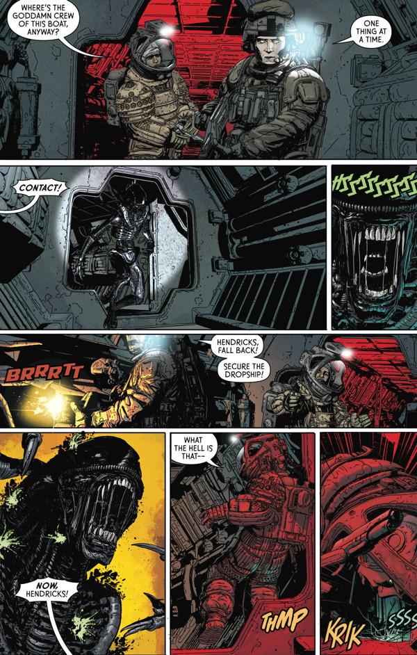 Aliens: Defiance Library Edition HC :: Profile :: Dark Horse Comics