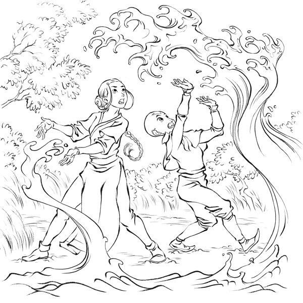 Avatar Movie Coloring Pages: First Look Page 6