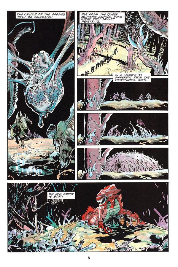 Aliens Omnibus Volume 2 Profile Dark Horse Comics