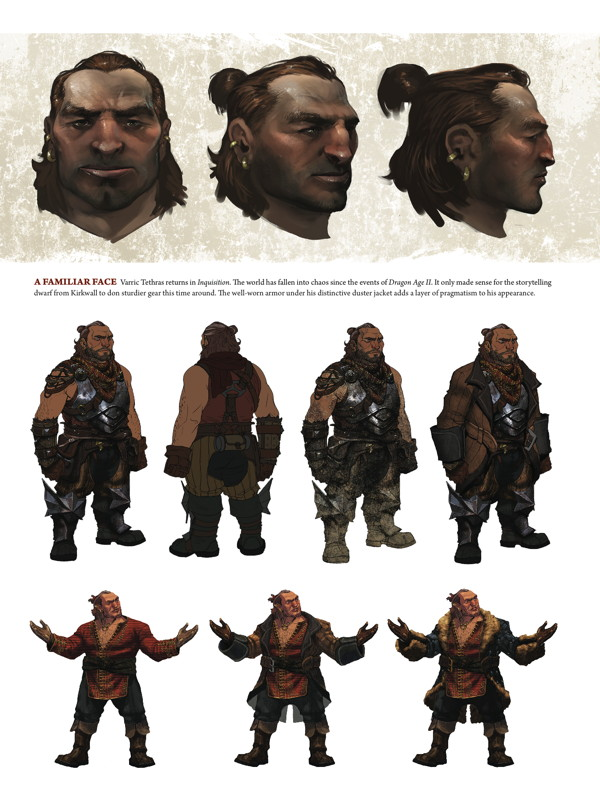 The Art of Dragon Age: Inquisition HC :: Profile :: Dark