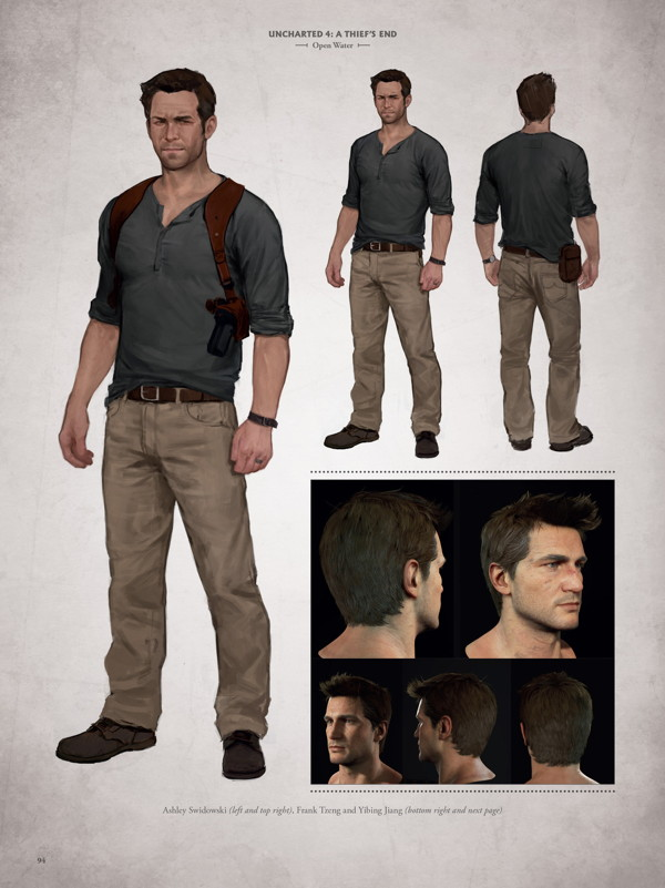 The Art Of Uncharted 4 A Thief S End Hc Profile Dark Horse