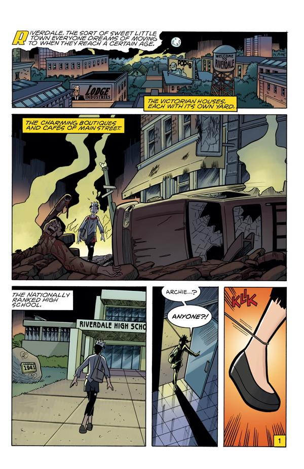 Archie Vs Predator 3 Profile Dark Horse Comics