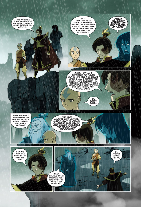Avatar The Last Airbender Volume 3 Tpb The Promise Part 3 At Tfaw