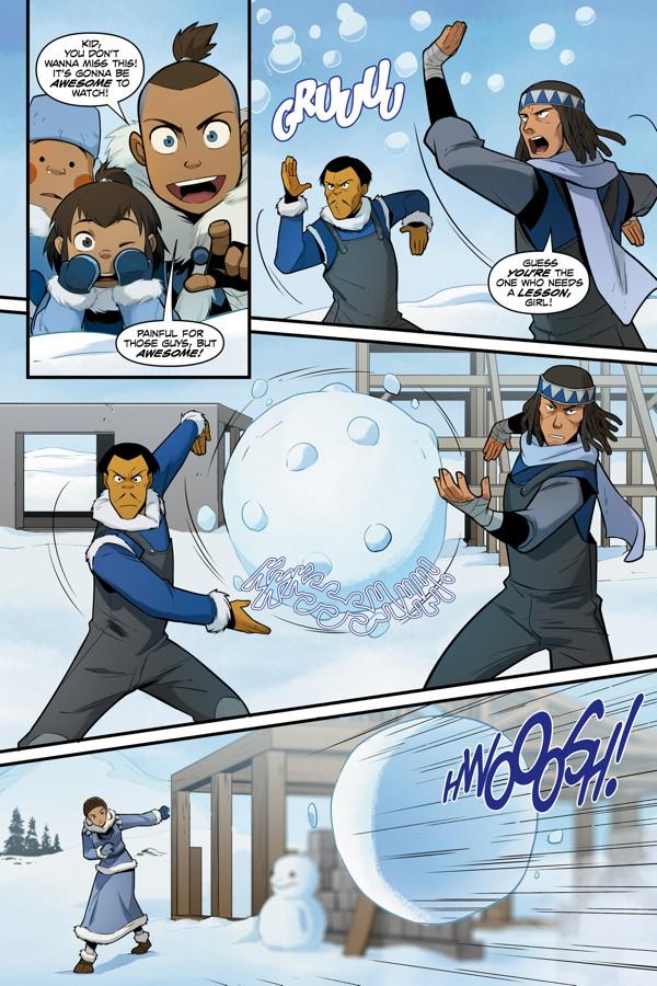 Sorry, Avatar the last airbender katara comic