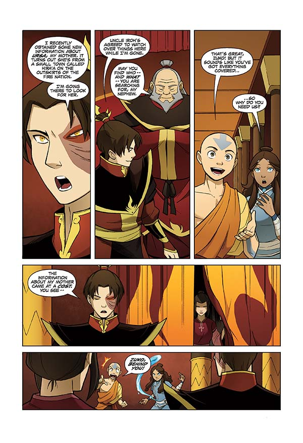 Avatar: The Last Airbender – The Search - Wikipedia