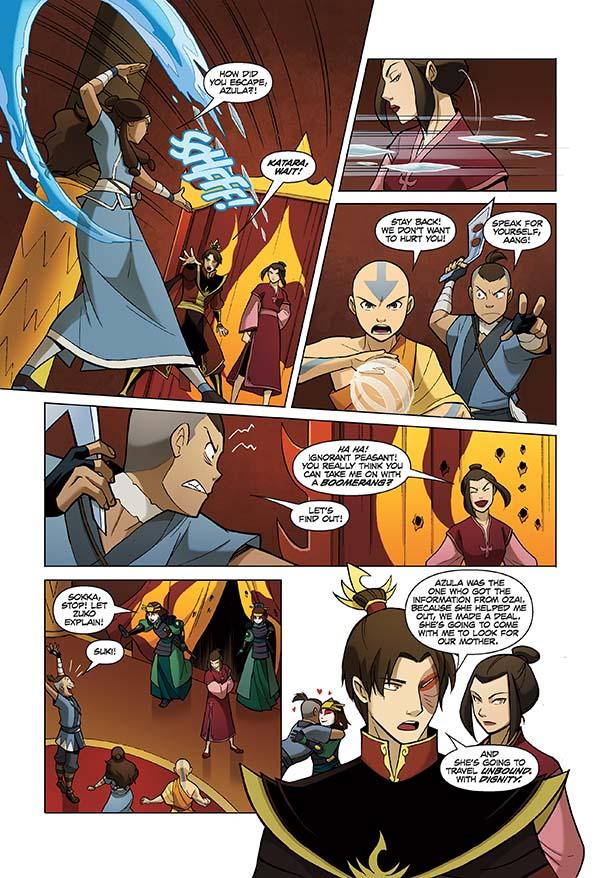 Can not Avatar the last airbender katara comic opinion