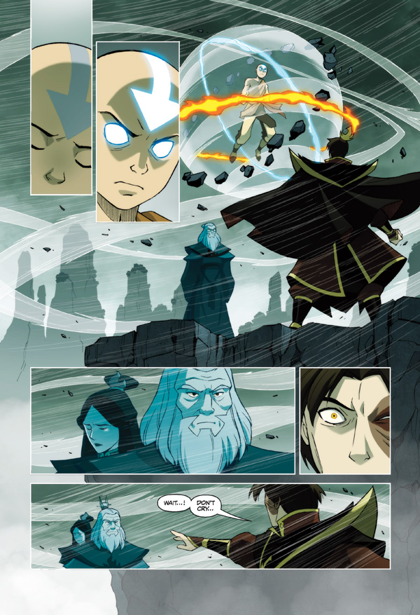 Avatar The Last Airbender The Promise Library Edition Hc Profile
