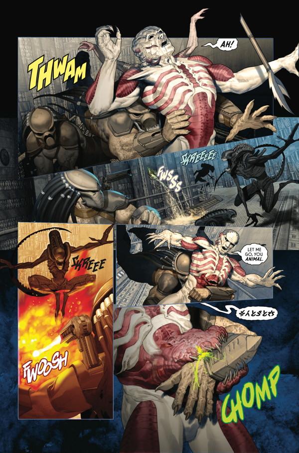 alien vs predator comic pdf