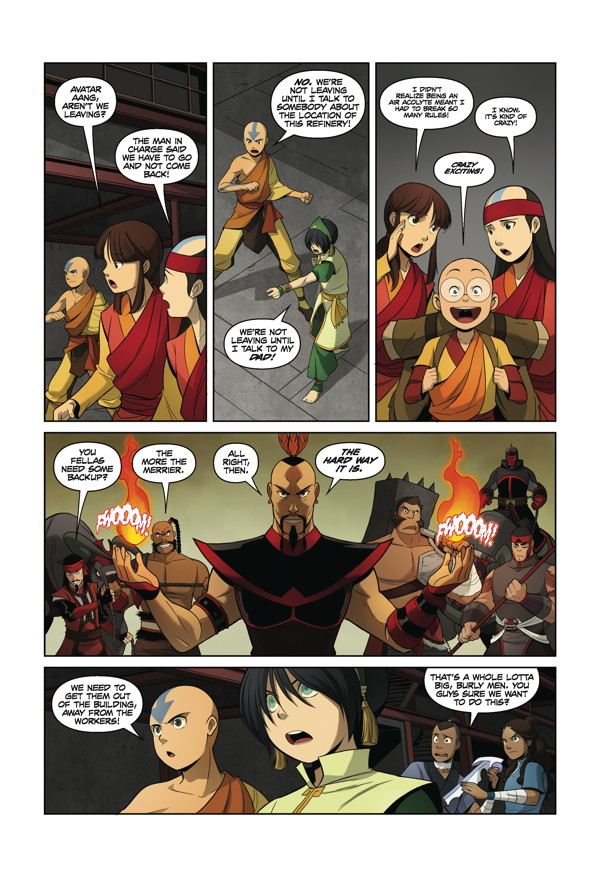 Avatar The Rift Part 1 The Last Airbender