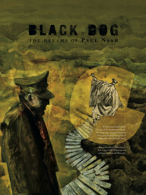 Black Dog The Dreams Of Paul Nash Tpb Profile Dark
