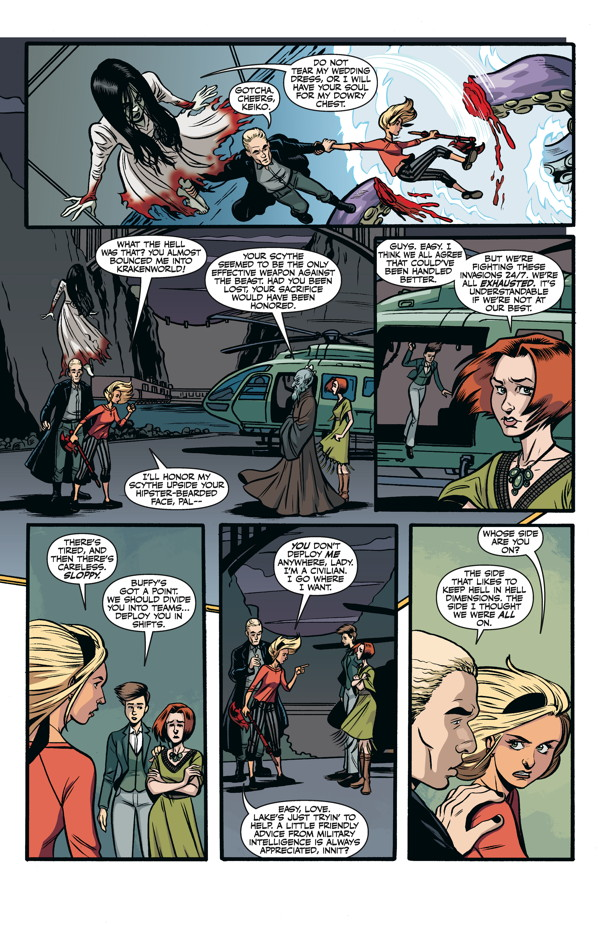 Buffy The Vampire Slayer Season 10 23 Rebekah Isaacs Variant Cover
