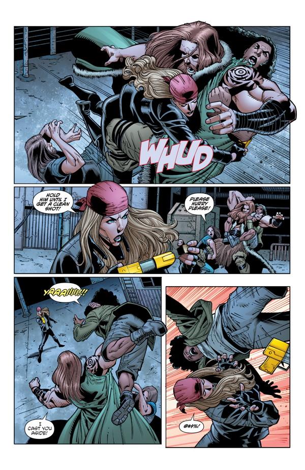 barb wire 3 profile dark horse comics