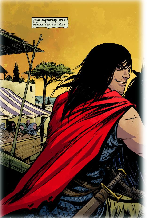Conan the Barbarian #1 (Becky Cloonan variant cover ...
