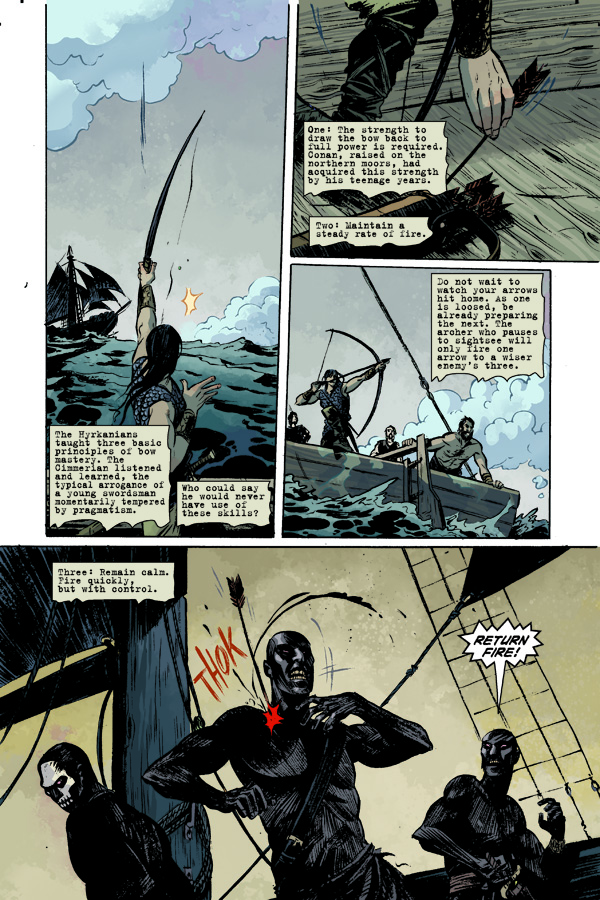 Conan the Barbarian #2 Leandro Frenandez Variant