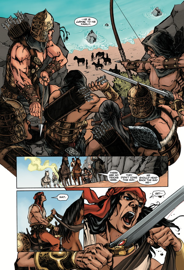 Conan The Slayer 2 Profile Dark Horse Comics