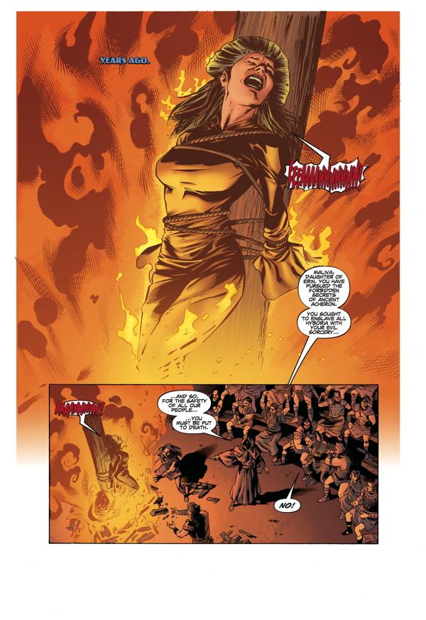 Crosses For Sale >> Conan the Barbarian: The Mask of Acheron TPB :: Profile ...