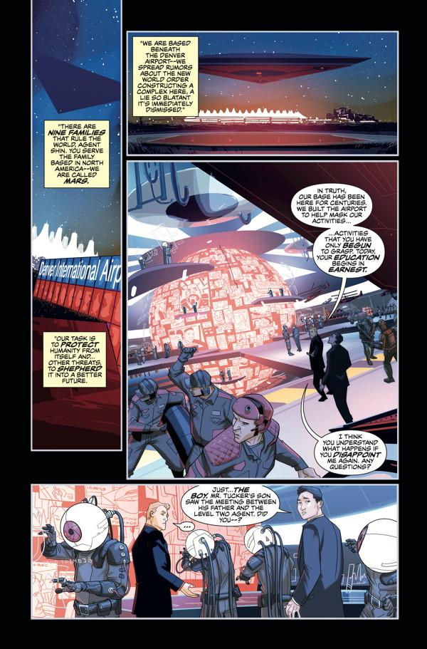 Cryptocracy TPB :: Profile :: Dark Horse Comics