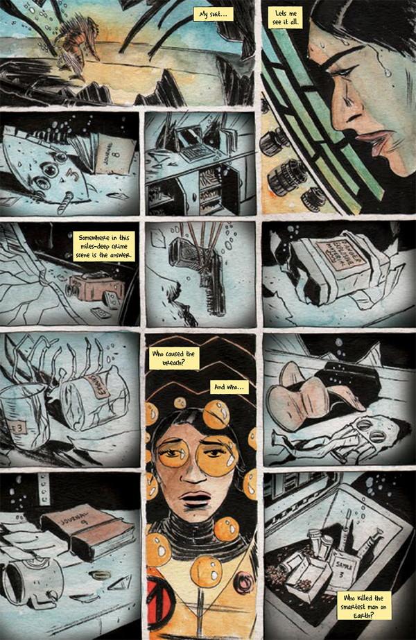Dept H 1 Profile Dark Horse Comics