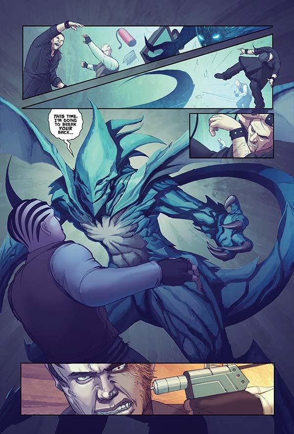 Dragon Resurrection Tpb Profile Dark Horse Comics