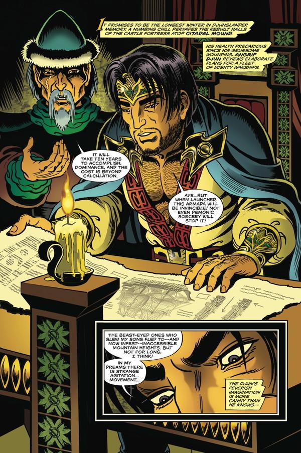 Elfquest The Final Quest 9 Profile Dark Horse Comics